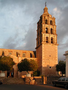 Mission in Alamos Mexico