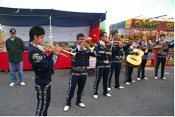 Mariachis from Mexicali at San Felipe Shrimp Festival