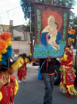 Feast of Guadalupe Parade Saltillo