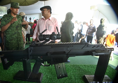 Mexico's Military Expo for Revolution...