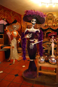 Catrina, is the icon of Mexico's Dia De Los Muertos