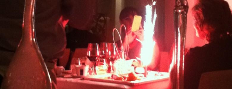 Birthday at Cafe de Artistes