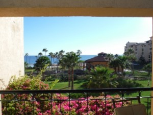 View from balcony of condo at Princesa de Peñasco