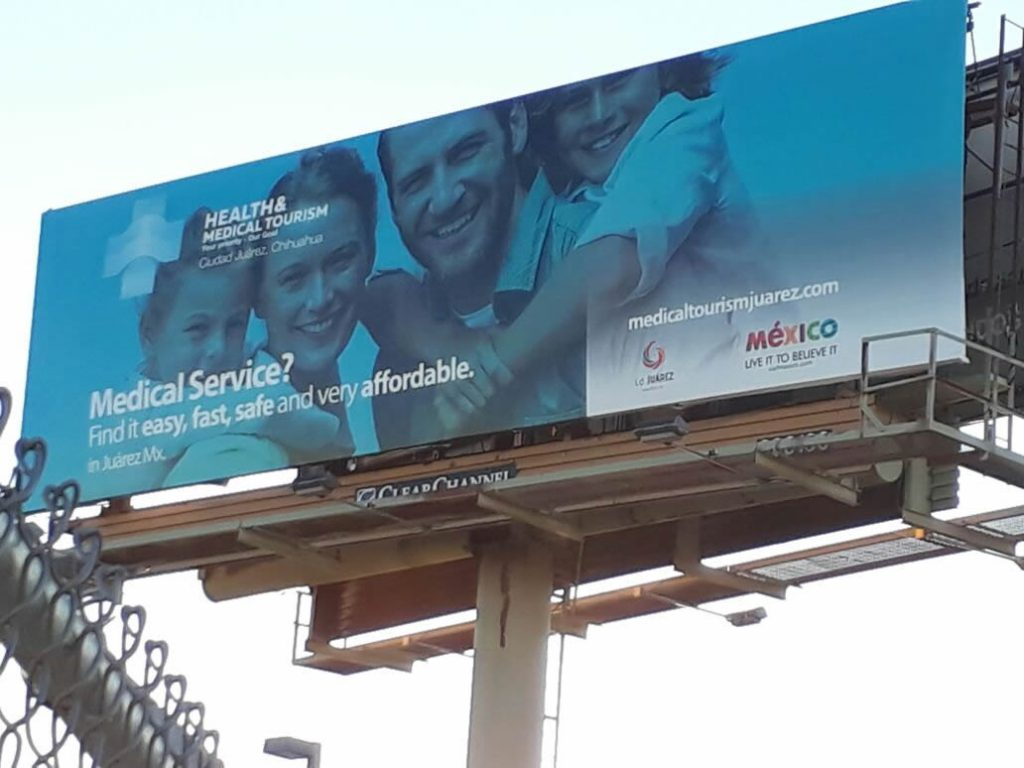 Medical Tourism billboard