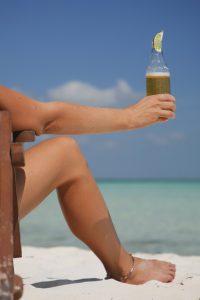 Beer on Beach