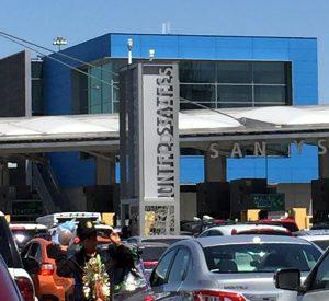 San Ysidro border crossing copyright