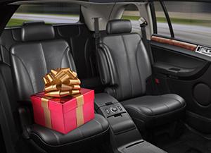 Gift in Car