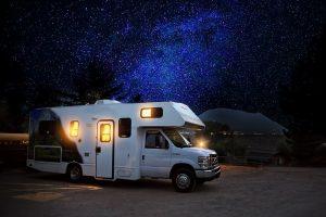 RV Caravan camping