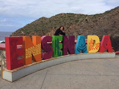Ensenada Sign at La Bufadora