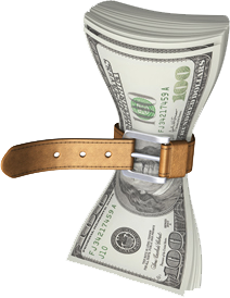 Tightening Money Belt
