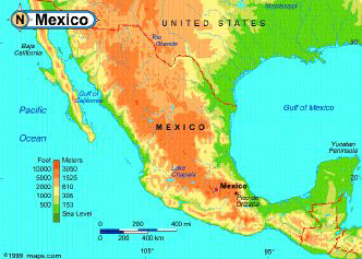Mexico Online Insurance Map