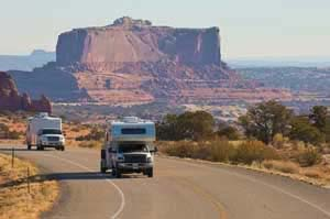 RV Monument Valley